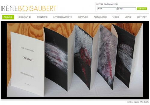 Irène Boisaubert - Artiste