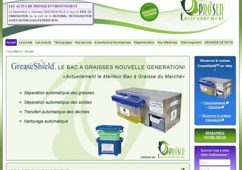 Proser Environnement - Bacs à graisse et séparateurs…