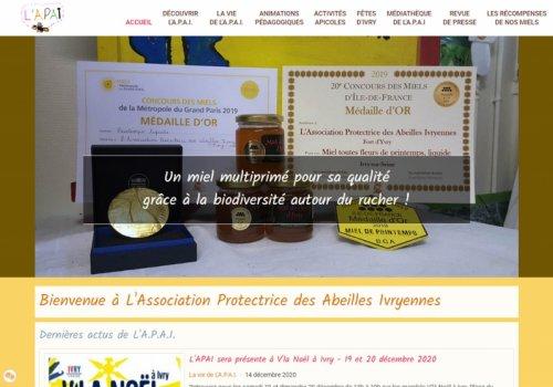 L'A.P.A.I. - L'Association Protectrice des Abeilles Ivryennes