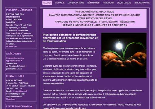 Christiane Deniaux - Psychothérapie et relaxothérapie